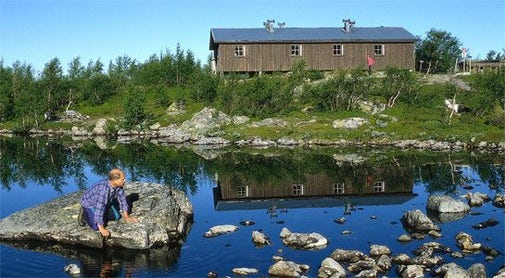 STF Lunndörren Mountain cabin