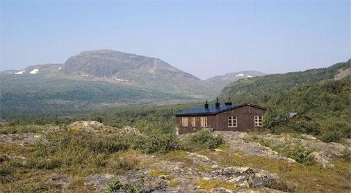 STF Njunjes Mountain cabin