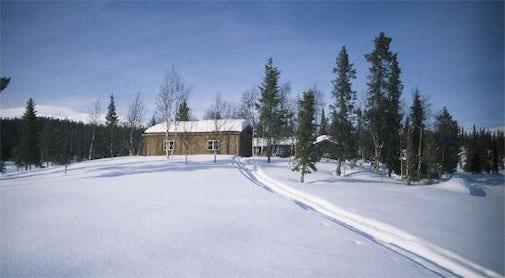 STF Pårte Mountain cabin