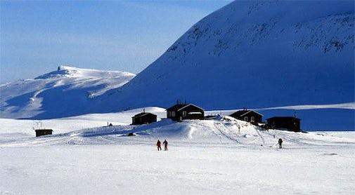 STF Sälka Mountain cabin