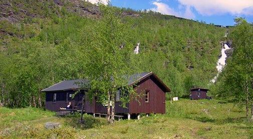 STF Teusajaure Mountain cabin