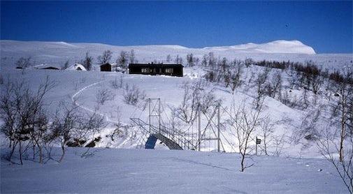 STF Kutjaure Mountain cabin
