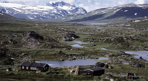 STF Unna Allakas Mountain cabin