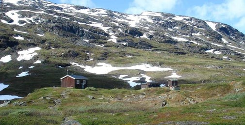 STF Kårsavagge Mountain cabin