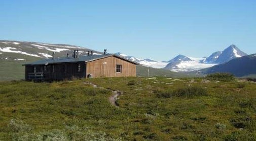STF Pieskehaure Mountain cabin