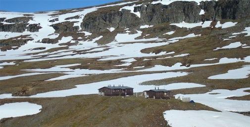 STF Tjäktja Mountain cabin