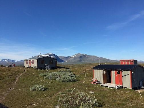 STF Fältjägaren Mountain cabin