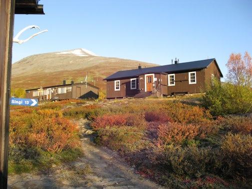 STF Kaitumjaure Mountain cabin