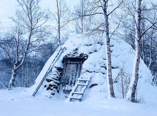 Abisko - Guided tour to a Sami Camp