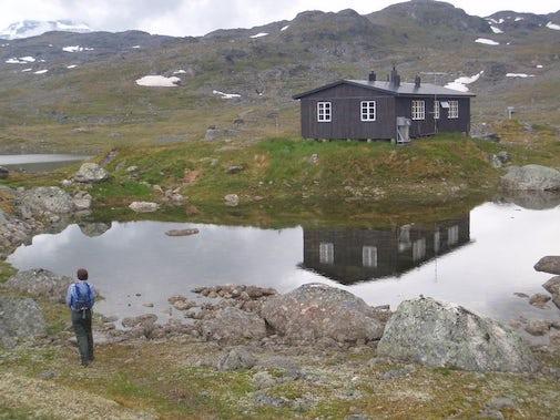 STF Hukejaure Mountain cabin