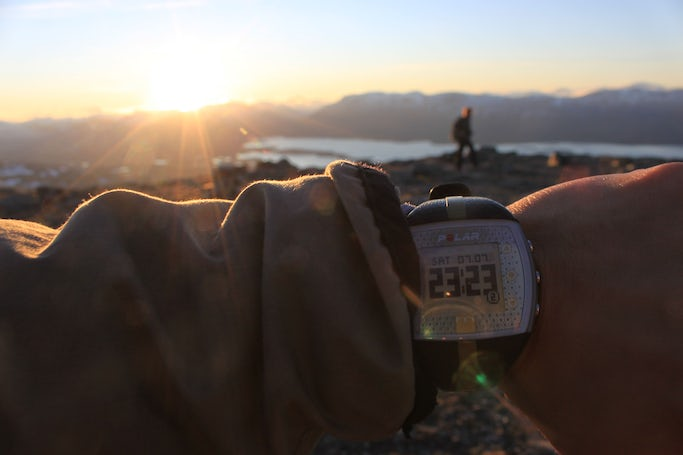 Abisko - Midnight Sun Hike to the top of Mount Nuolja