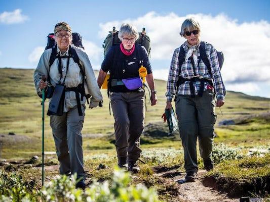 Jämtlandstriangel med guide SENIOR