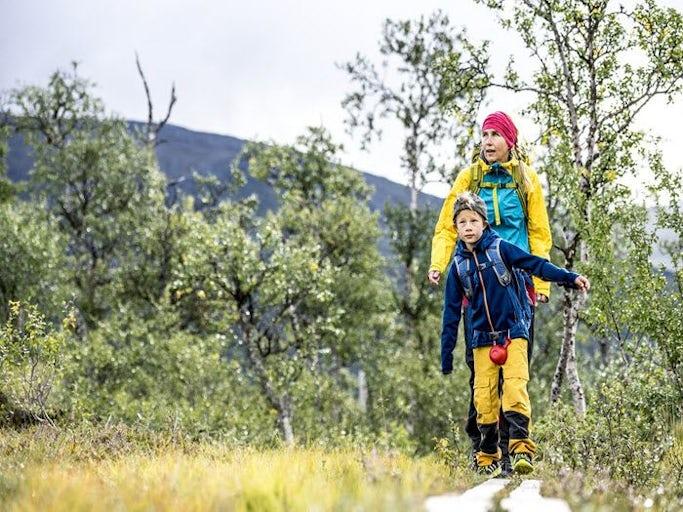 Laponia - Vandra med barn på egen hand