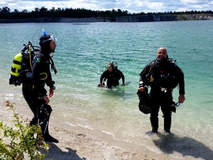 Guidad dyksafari på Gotland