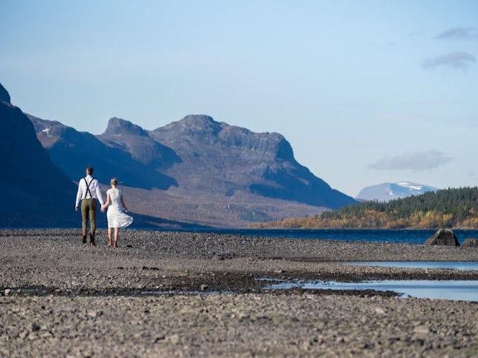 Fjällbröllop i Saltoluokta