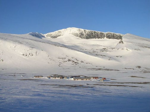 STF Helags Mountain station