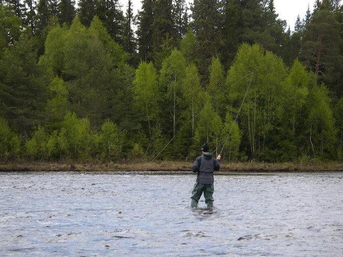 Flugfiskekurs i Sälen