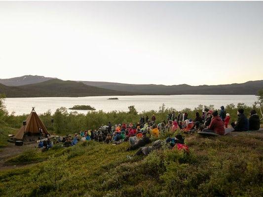 Camping at Saltofolk – the true festival life!