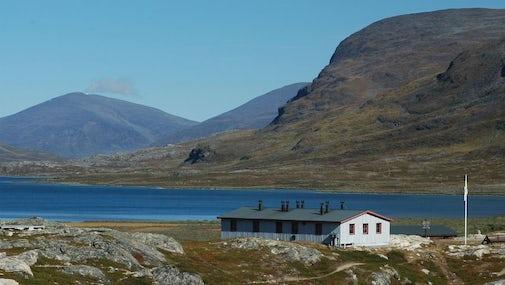 STF Alesjaure Mountain cabin