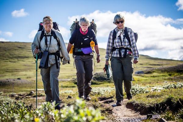 Kungsleden Abisko – Nikkaluokta senior hike with guide