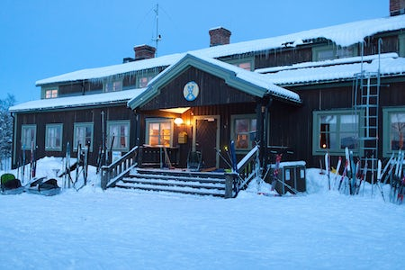 STF Saltoluokta Mountain station