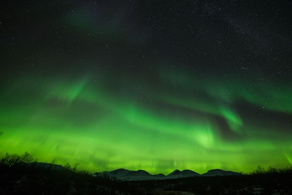 Abisko - Northern light hike; Autumn