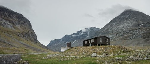 STF Nallo Mountain cabin