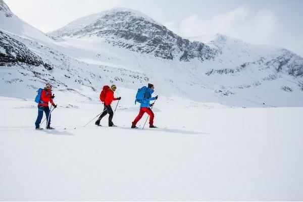 Abisko - The Kings Trail Abisko-Kebnekaise on Nordic backcountry skis