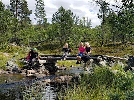 Grövelsjön - Familjefjäll på egen hand