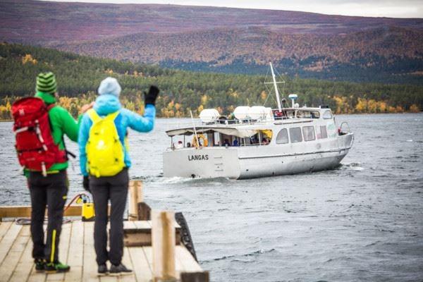 Saltoluokta - Båtbiljett M/S Langas