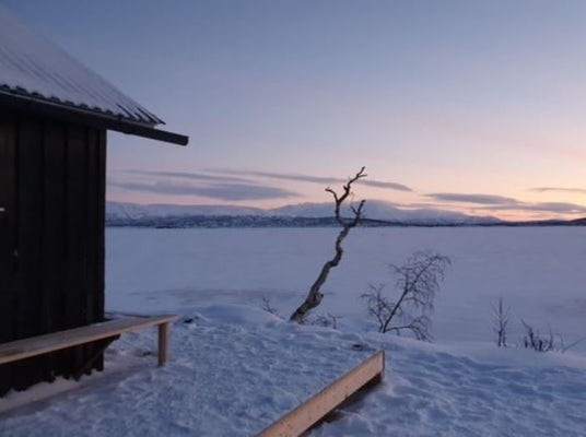 Abisko - Wood heated sauna by Torneträsk